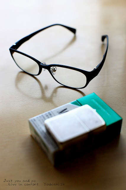 11月 眼鏡を新調