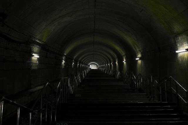 土合駅  400段超ですよね 恐ろしい駅です