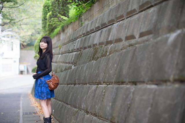 柴又撮影会にて モデルはうちのモデルの娘です
