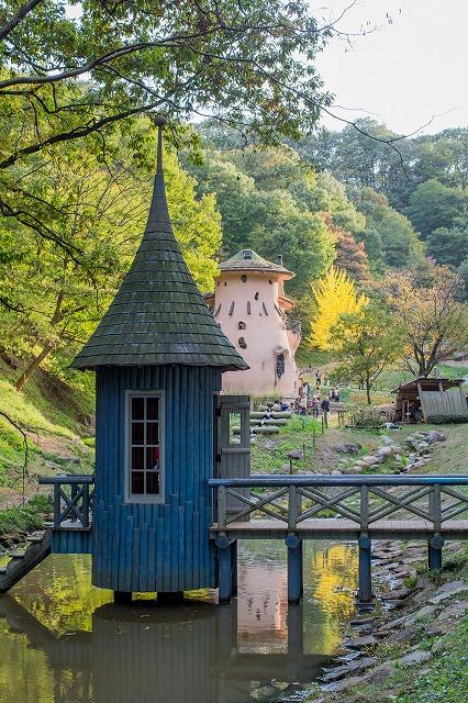 あけぼの子供の森公園のムーミン谷