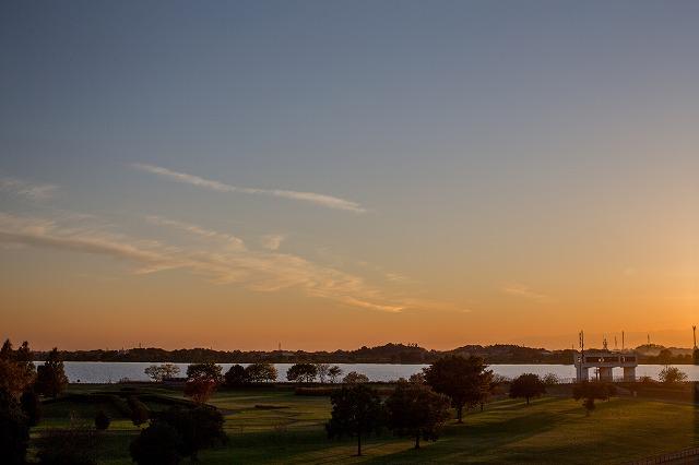 渡良瀬遊水地 この頃は 鳥じゃなくて夕日を撮りに行ってました