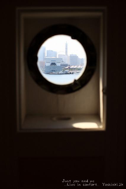 窓から 大さん橋