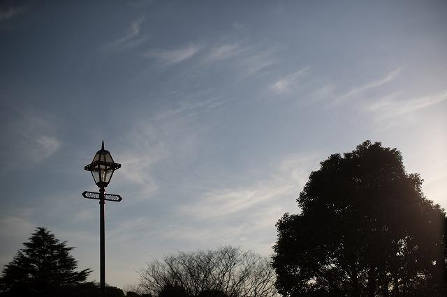 山手の街灯