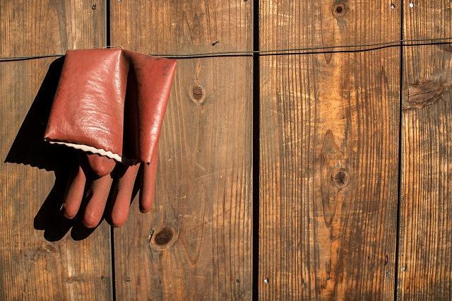 友禅屋だったから こういう手袋使ってたんだよね