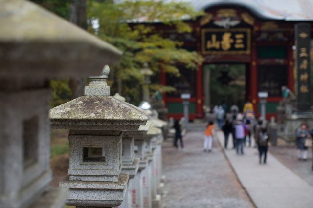 三峰神社 バスツアーにて